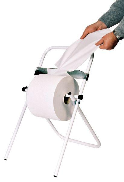 Dévidoir pour bobine de papier d'essuyage