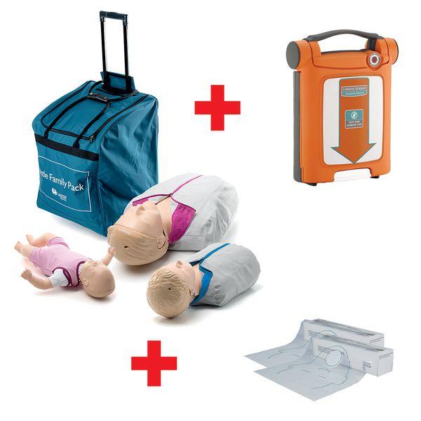 Pack Famille Little QCPR avec défibrillateur G5