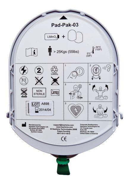 Pad-Pak électrodes et batterie pour défibrillateur Samaritan PAD