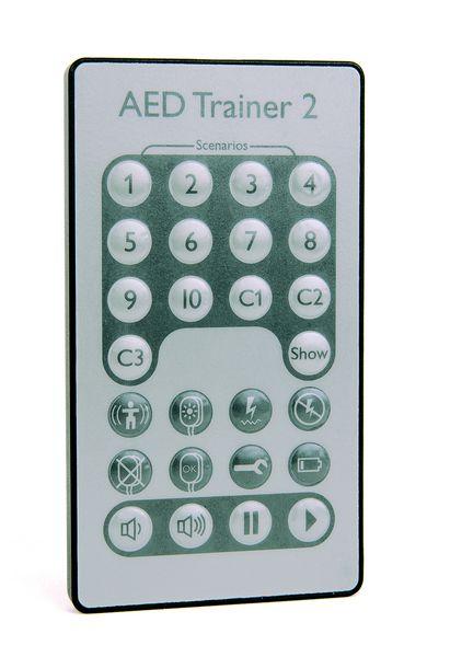 Télécommande pour défibrillateur de formation Trainer 2