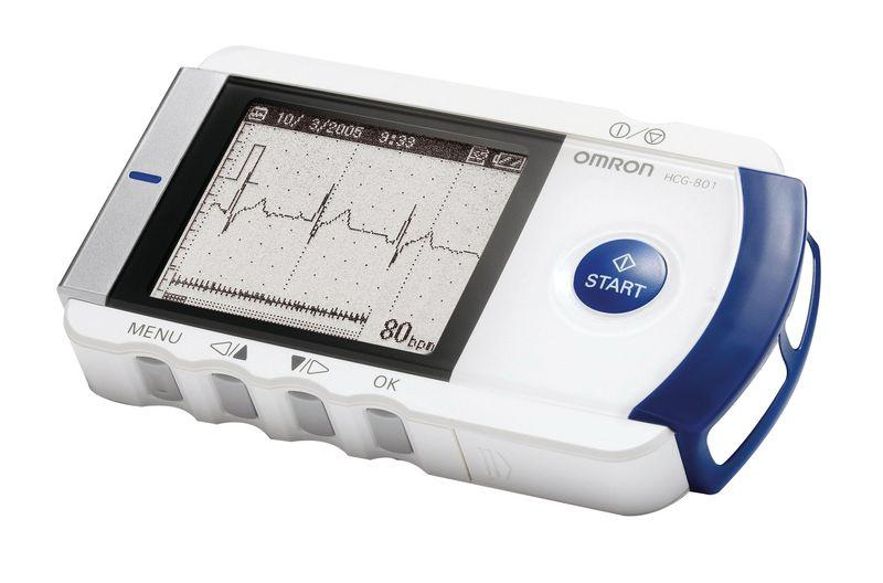 ECG Omron Heart Scan HCG 801 E