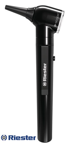 Otoscope E-scope® Riester à fibre optique LED