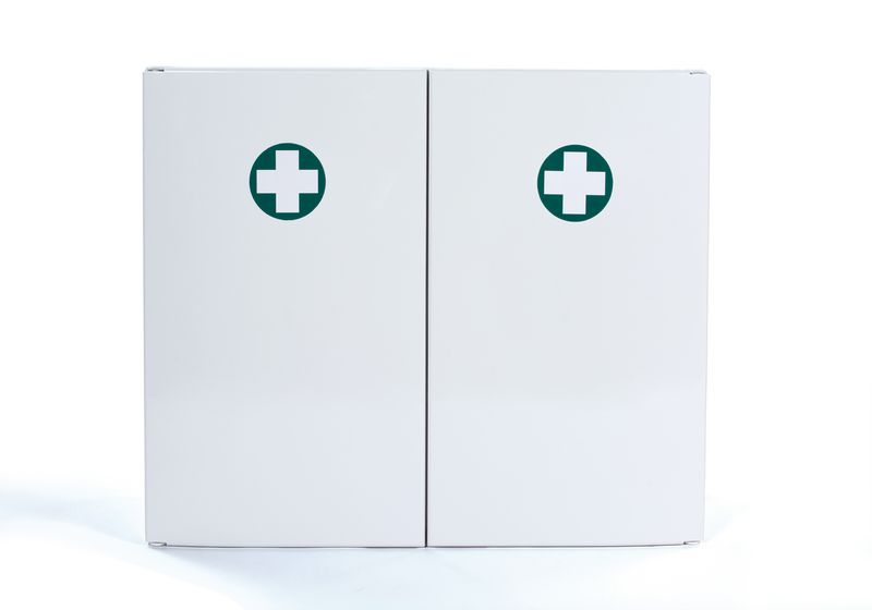 Armoire à pharmacie en ABS 2 portes - vide