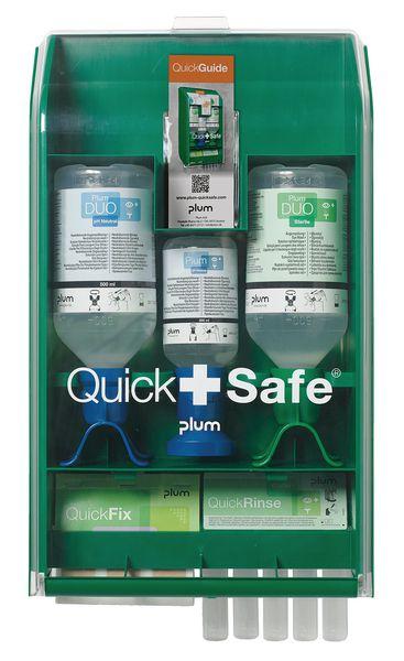 Station lavage oculaire Quick Safe industrie chimique