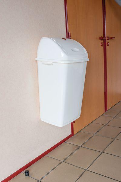 Bien connu Plaque de fixation murale pour poubelle à bascule | Securimed LI89
