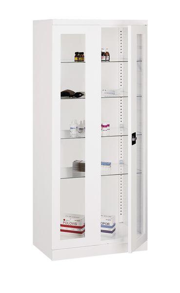 Vitrine à pharmacie 4 étagères