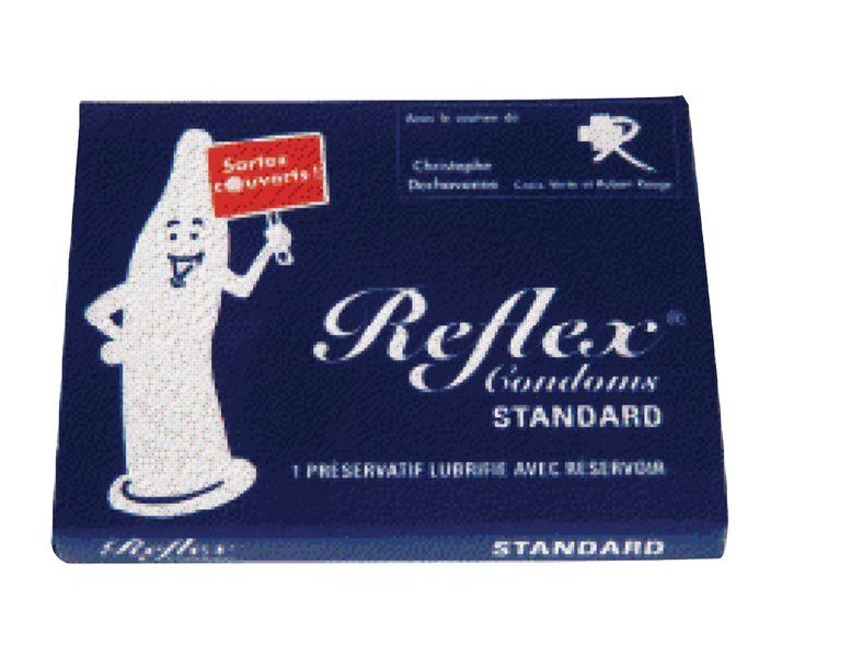 Boîtes de 6 préservatifs Reflex en lot de 24