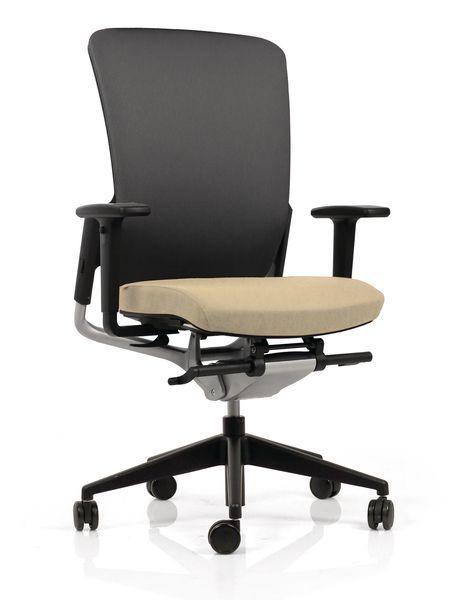 Fauteuil de bureau ergonomique E8 dossier haut résille