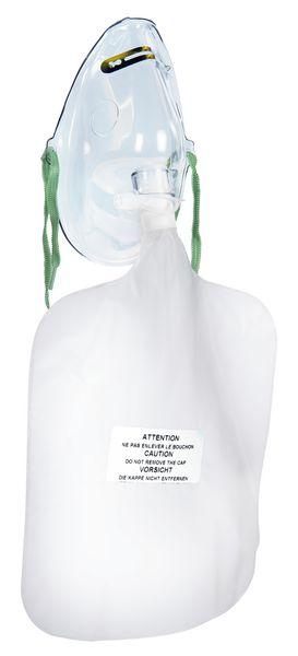 Masque à respiration recyclée