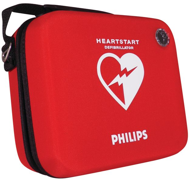 Housse semi-rigide pour défibrillateur HeartStart HS1
