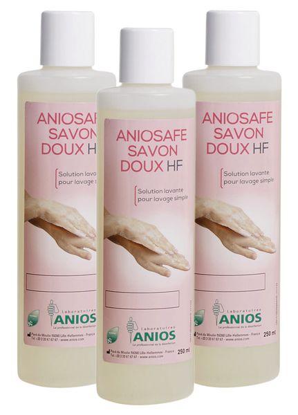 Savon doux Anios 3 flacons 250 ml