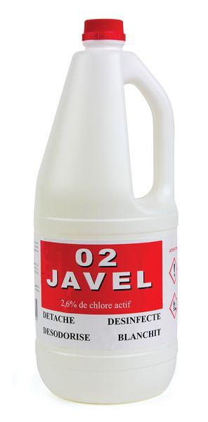 Nettoyant eau de javel diluée 9° 2L