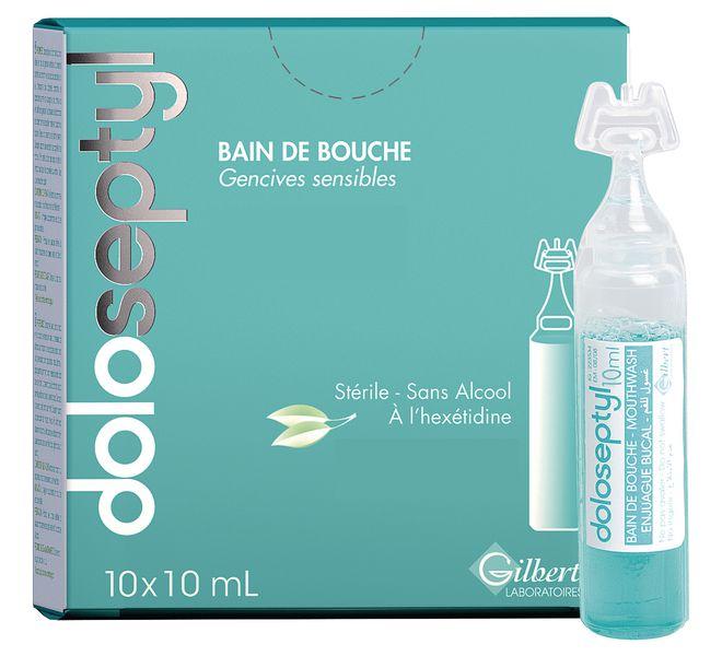 Bain de bouche Doloseptyl en dosettes
