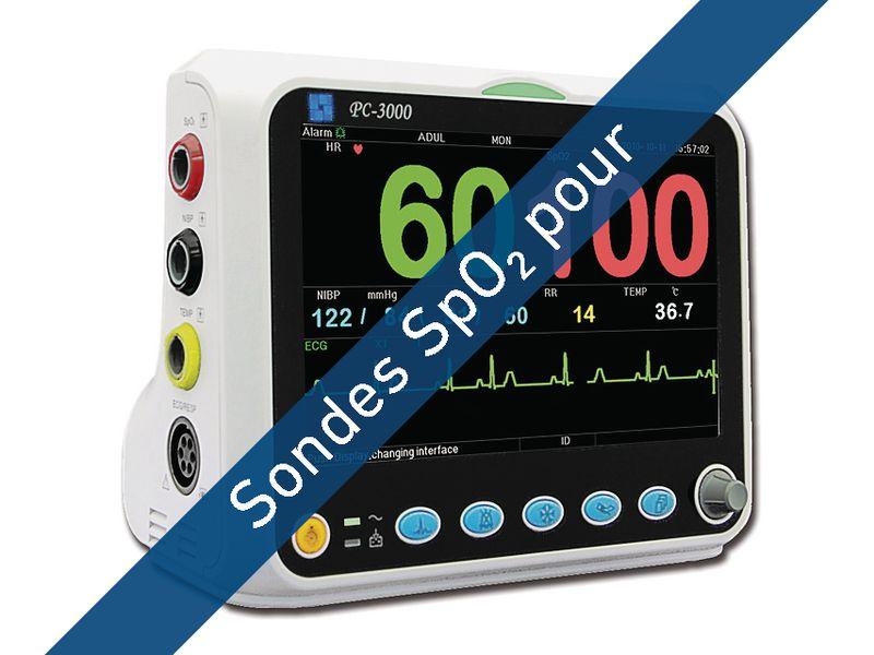 Sondes SpO<sub>2</sub>  pour moniteur PC-3000