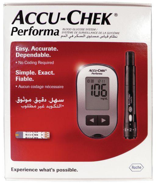 Lecteur de glycémie Accu Chek® Performa