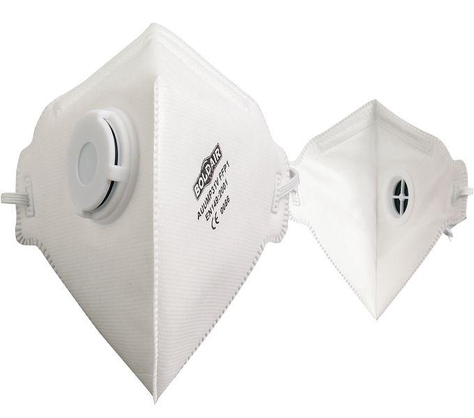 Masque respiratoire FFP1 pliable avec valve