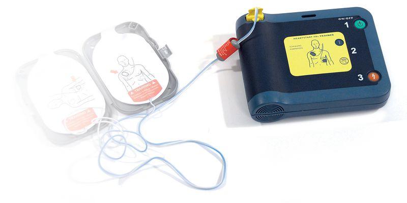 Electrodes adulte défibrillateur formation FRX Trainer