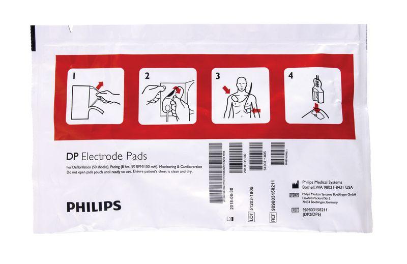 Electrodes/patchs défibrillateur HeartStart FR2