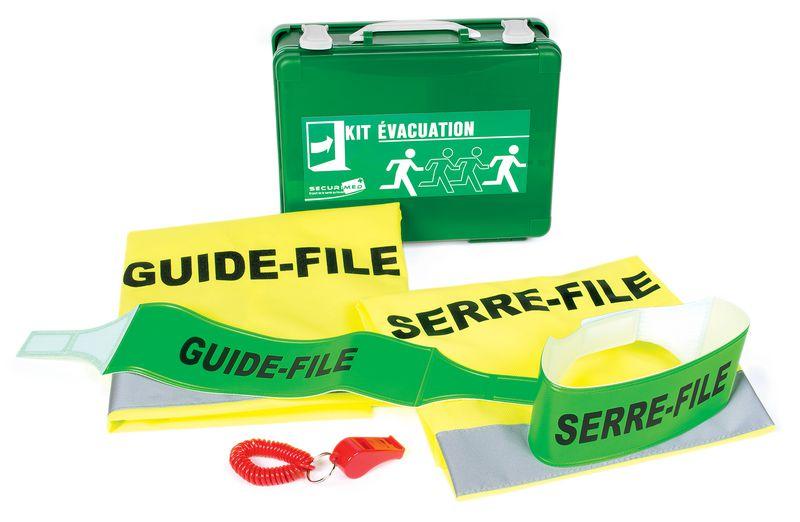 Kits pour l'équipe d'évacuation