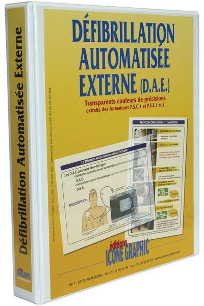 Classeur DAE : Défibrillation Automatisée Externe