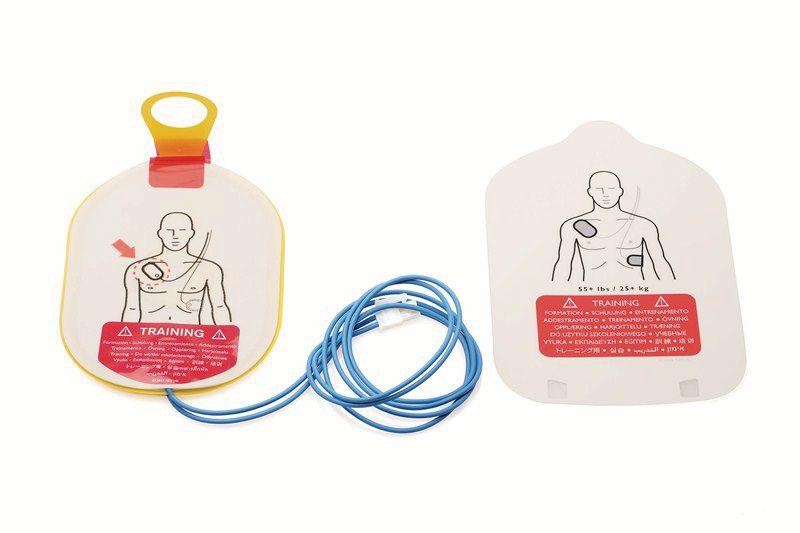 Electrodes adulte pour défibrillateur de formation HS1 Trainer