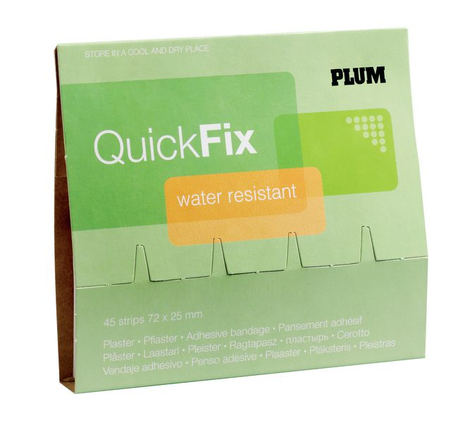 Recharge pansements Water Resistant QuickFix PLUM