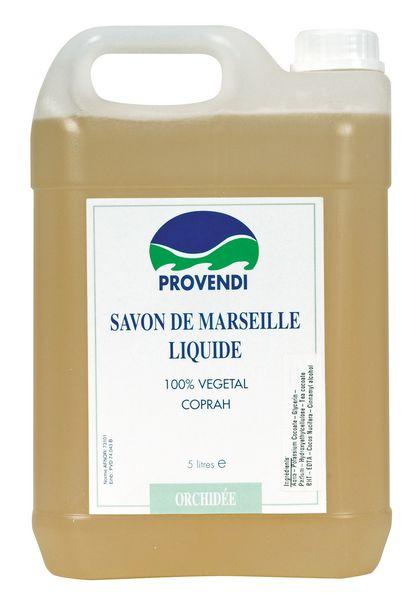 Savon de Marseille parfum orchidée en bidon 5 litres