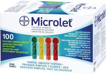 Microlet lancettes