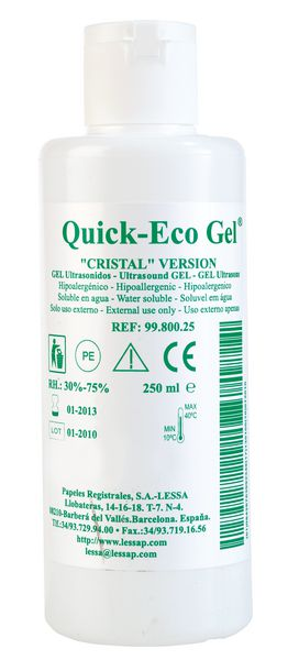 Gel de contact ECG Quick-Eco Gel