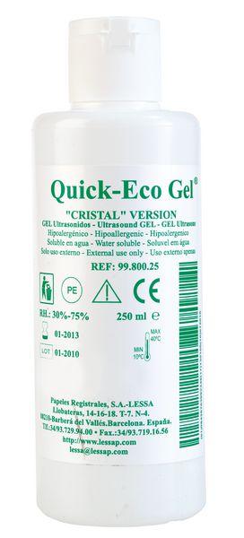 Gel de contact ECG Quick-Eco Gel