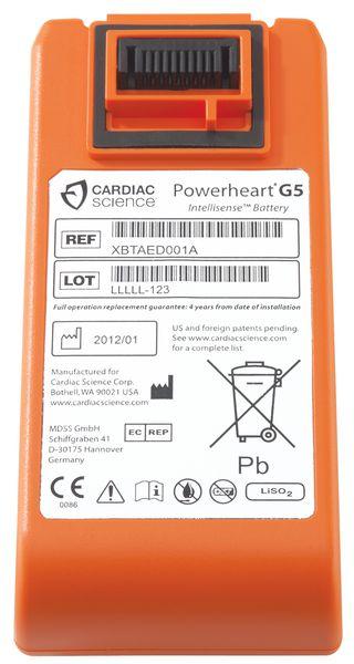 Batterie lithium pour défibrillateur Powerheart G5