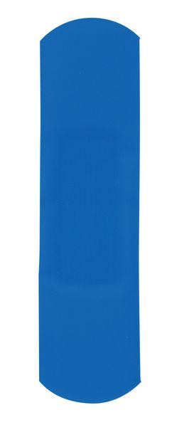Pansements prédécoupés bleus détectables