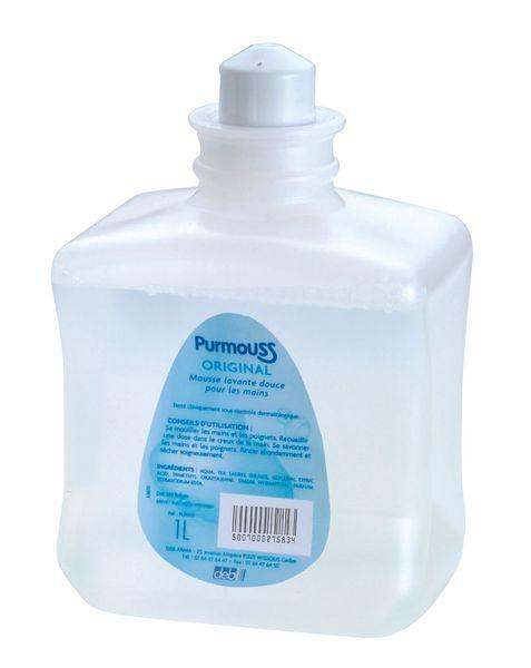 Recharges de savon Purmouss 1L pour distributeur