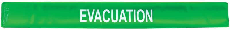 Brassard de sécurité auto-enroulant Evacuation