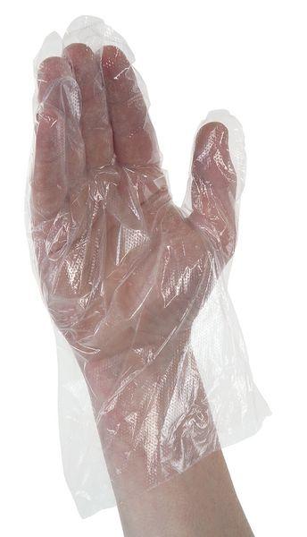 Gants de protection jetables polyéthylène