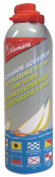 Cartouche de recharge pour avertisseur sonore à gaz