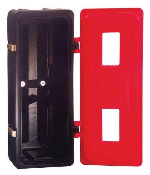 Coffrets pour extincteurs en polyéthylène