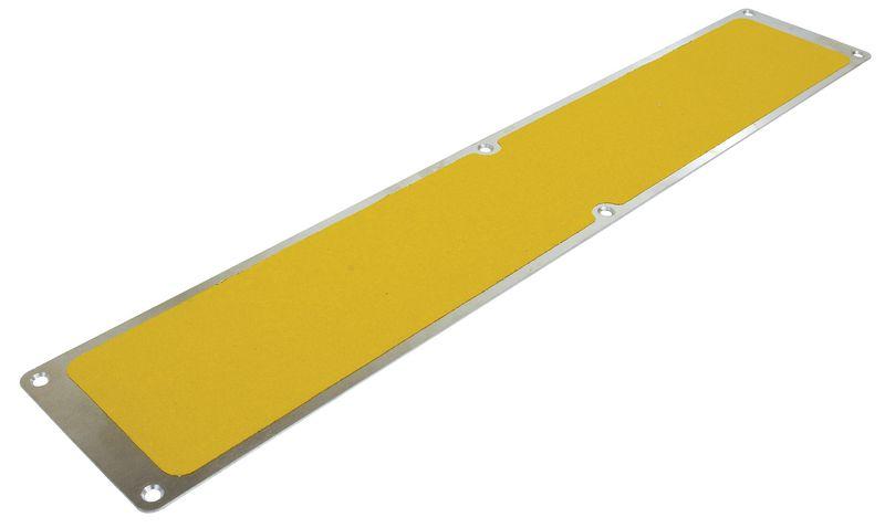 Plaque aluminium antidérapante
