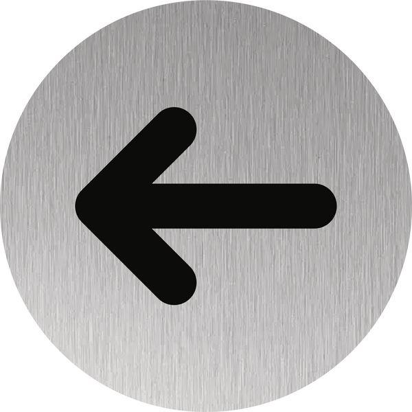 """Plaque de porte """"Flèche"""""""