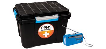 Conformité des trousses de secours confinement PPMS