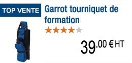 Garrot tourniquet de formation