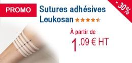 PROMO - Sutures adhésives Leukosan