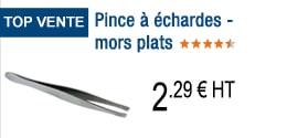 TOP VENTE - Pince à échardes - mors plats