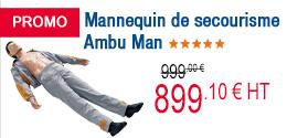 PROMO - Mannequin de secourisme Ambu Man