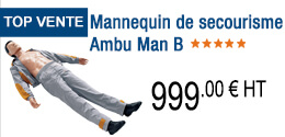 TOP VENTE - Mannequin de secourisme Ambu Man B
