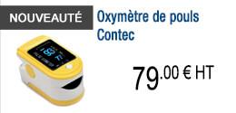 NOUVEAUTE - Oxymètre de pouls Contec