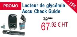 PROMO - Lecteur de glycémie Accu Check Guide