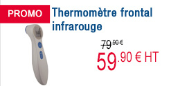 PROMO - Thermomètre frontal infrarouge