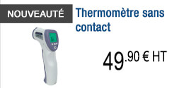 NOUVEAUTE - Thermomètre sans contact