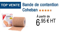 TOP VENTE - Bande de contention Coheban